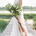catering madrid, vestido de novia para otoño