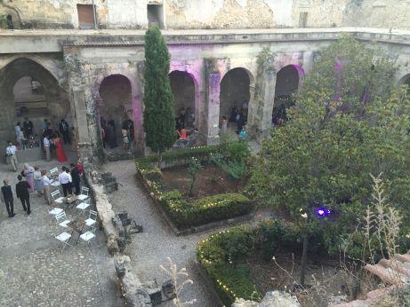 Recepción, Boda en el monasterio de Kozinart, catering Madrid