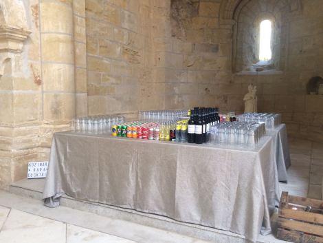 Decoración, Boda en el monasterio de Kozinart, catering Madrid