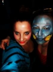 Sa nastave scenske šminke, tema: Uvod u fantasy