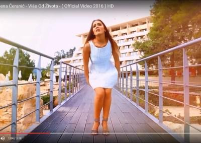 MILENA ĆERANIĆ I ĆEMO – Akademija Purity šminka za muzički spot, pesma – Više od života