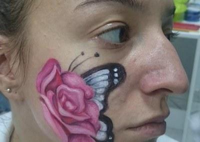 BODY ART NASTAVA – atmosfera sa drugog pretavanja, studenti smera Makeup artist