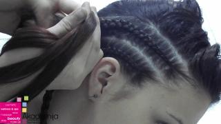 PLETENICE UZ GLAVU – sa nastave na predmetu Stilizovanje frizura