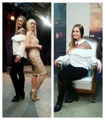 ANETA FARAGO I NEVENA ŠARČEVIĆ – emisija i intervju sa glumicom