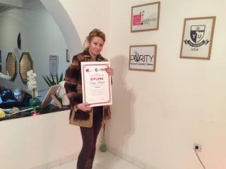 Sanja Nikolić, akademski kurs depilacije