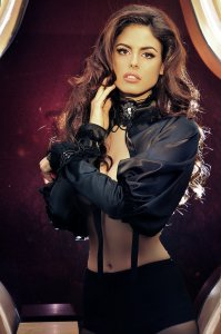 supermodel Bojana Krsmanović