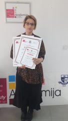Mirjana Rakić, akademski kurs profesionalne masaže
