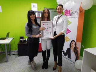 Jelica Bugarić, akademski kurs profesionalnog šminkanja