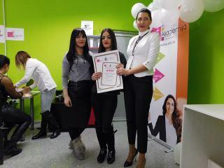 Medina Lekpek, akademski kurs profesionalnog šminkanja