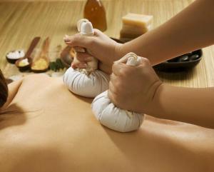 masaža biljem