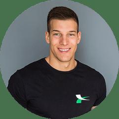 LUKA RISTIĆ – sertifikovani personalni trener, obuka na Akademiji