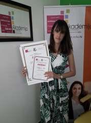 Biljana Ikić, akademski kurs profesionalnog šminkanja