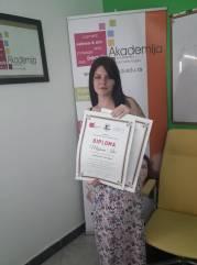 Mirjana Ilić, akademski kurs za kozmetičara