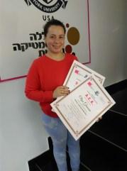Olga Gracin, nutricionistički kurs