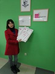 Dragana Bojović, akademski kurs profesionalne masaže