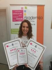 Tamara Grašilović, kurs profesionalne masaže