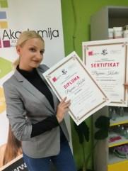 Biljana Kostić, kurs nutricionizma