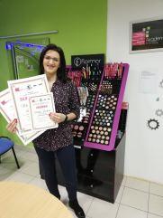 Marija Janićijević, kurs profesionalnog šminkanja