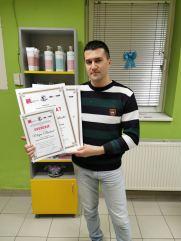 Marjan Marković, kurs profesionalne masaže