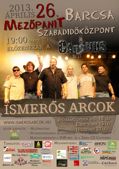 Ismeros_Arcok_koncert