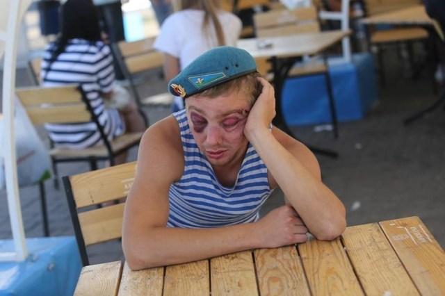 П'яні російські десантники вбивають одне одного