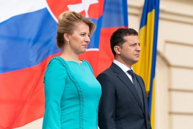Зустріч делегацій України та Словаччини під головуванням президентів країн