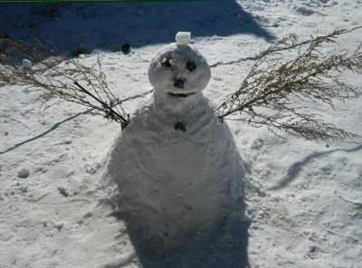 冬のグリンパは幼児もソリで大満足