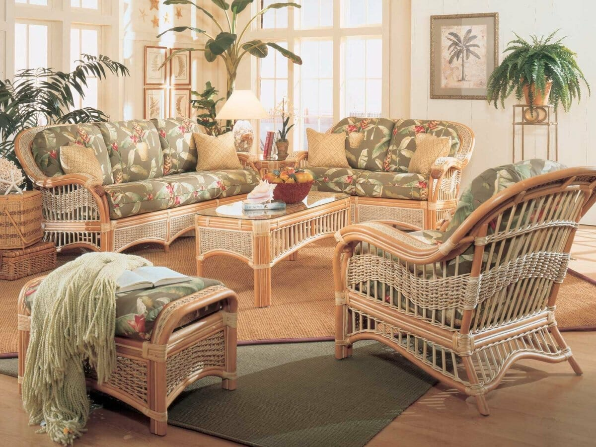 Indoor Wicker Furniture   Kozy Kingdom Indoor Wicker Furniture