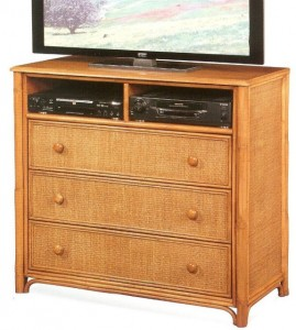 Wicker Television Stands Rattan TV Consoles