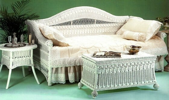 White Wicker Rockers Outdoor