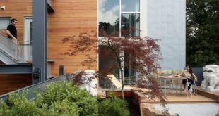 Újrahasznosított anyagból készített ház Amerikából