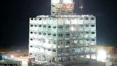 Photo of 30 emeletes – 17 ezer négyzetméteres könnyűszerkezetes szállodaépítés 15 nap alatt