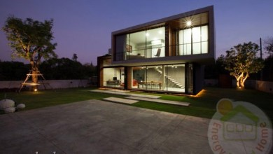 Photo of Modern W ház Thaiföldön