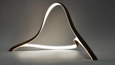 Photo of John Procario különleges, művészi lámpája