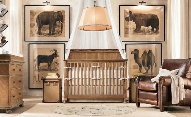 Traditional-safari-themed-baby-room-665x407