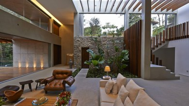 Photo of Buja növényzetben megbújó modern rezidencia Braziliából