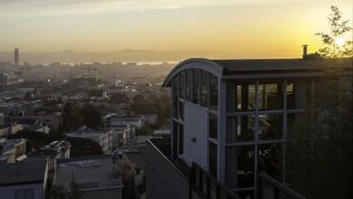 Photo of Kreatív modern hegyoldali ház San Francisco-ban