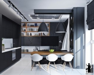 black-and-white-small-apartment-600x479