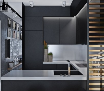 matte-black-kitchen-cabinetry-600x525