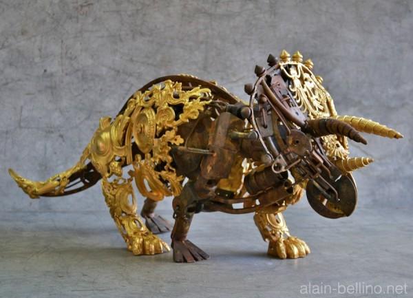 steampunk-dinosaur-sculpture-600x433