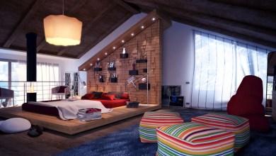 Photo of Elképesztő tetőtéri hálószobák