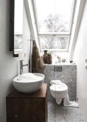 Glass-shower-with-a-skylight-900x1259