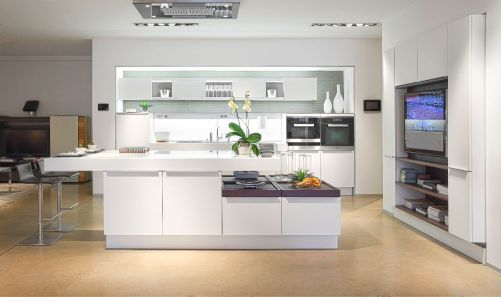 Ultra-Modern-White-Kitchen-Painted-Concrete-Floors