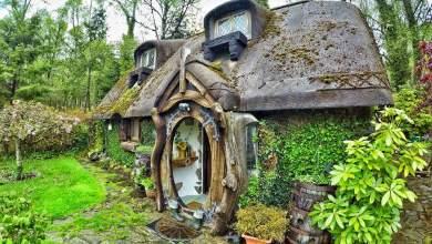 Photo of Igazi hobbit ház az Egyesült Királyságban