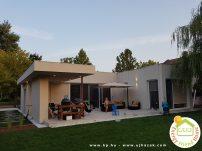 Balatonöszödi családi ház - terasz