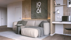 wood-walls-in-one-bedroom-apartment