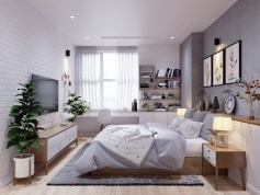 sunny-bedroom-design-blue-and-white