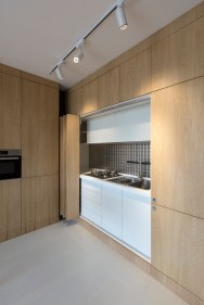Small-attic-apartment-features-a-tiny-kitchen
