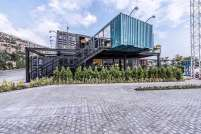 The-Cube-Club-built-out-of-shipping-containers-in-Tehran