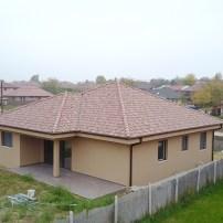 Kistarcsa, családi ház drón fotók